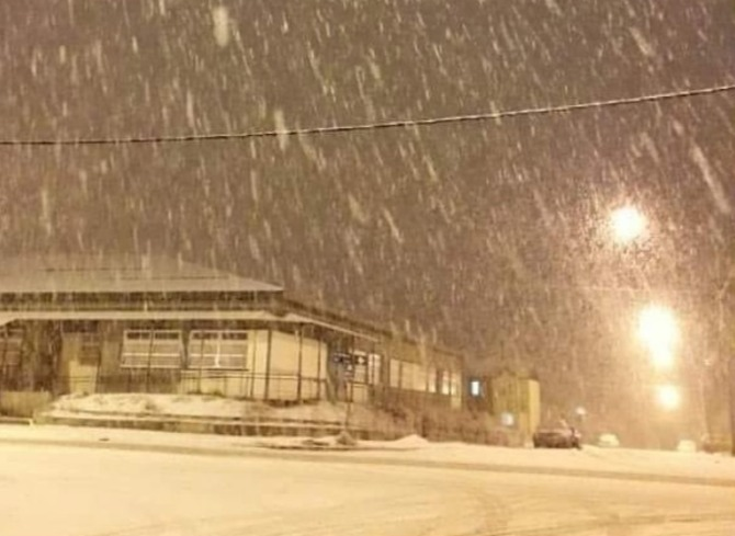 Самый южный город Земли засыпало снегом (фото, видео) - Погода Mail.ru
