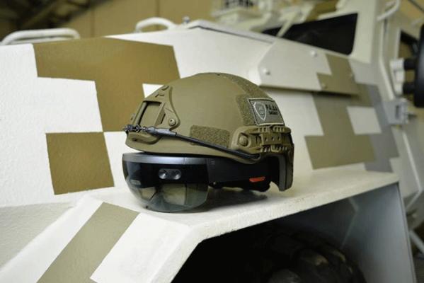 ВУкраине создают шлем виртуальной реальности для военных