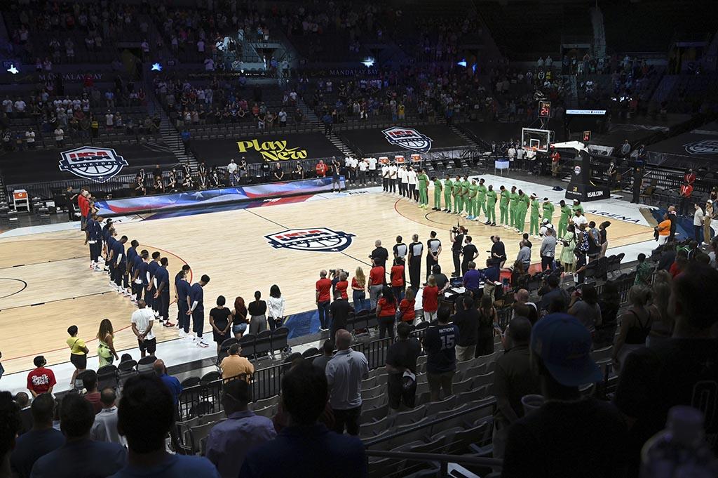 Контрольный матч сборной США по баскетболу отменен из-за коронавируса