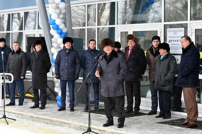Минниханов встретился спрезидентом FINA Хулио Маглионе