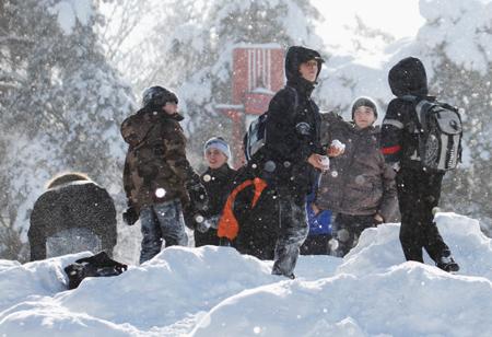ВТюмени из-за морозов отменены занятия для воспитанников 1