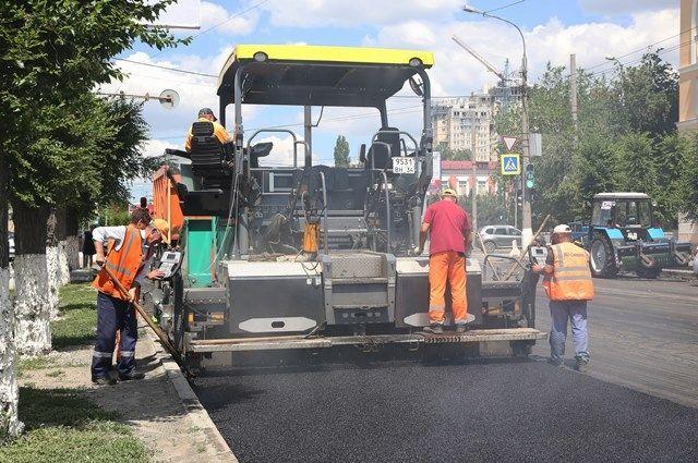Наулице Льва Толстого вСоветском районе начались дорожные работы
