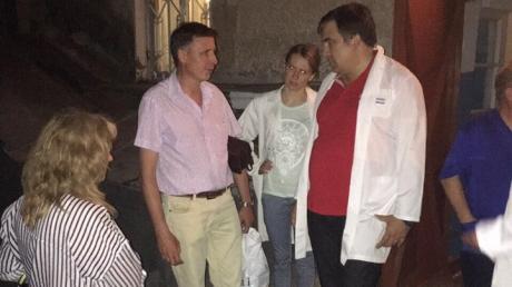 Саакашвили: отравление в Измаиле вызвано загрязнением питьевой воды