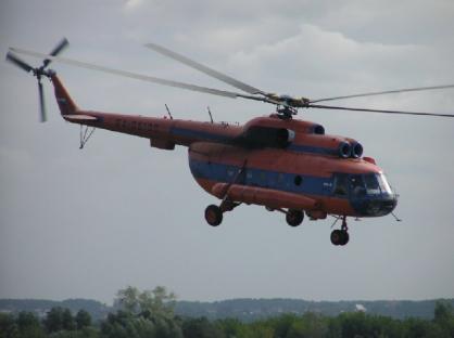 НаАлтае из-за отказа мотора аварийно сел пассажирский вертолет Ми-8