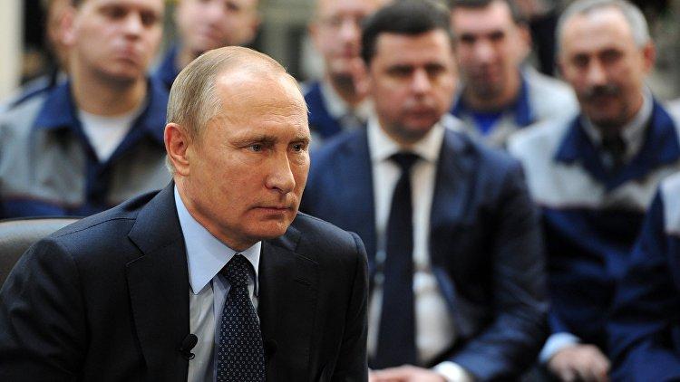 Путин распорядился вновь помочь с поставками газа в украинский Геническ