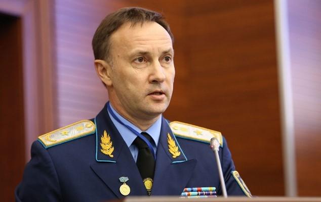 Заместитель генерального прокурора Казахстана отстранен отдолжности
