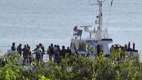 Натурецком судне вОдесской области моряки устроили бунт ипоножовщину