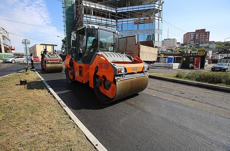ВВоронеже почти завершены работы врамках проекта «Безопасные икачественные дороги»
