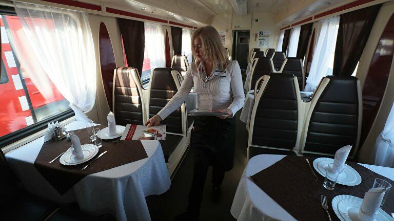 РЖД готовят новую концепцию питания в поездах