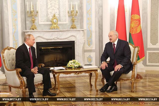 Между Лукашенко иПутиным состоялся телефонный разговор