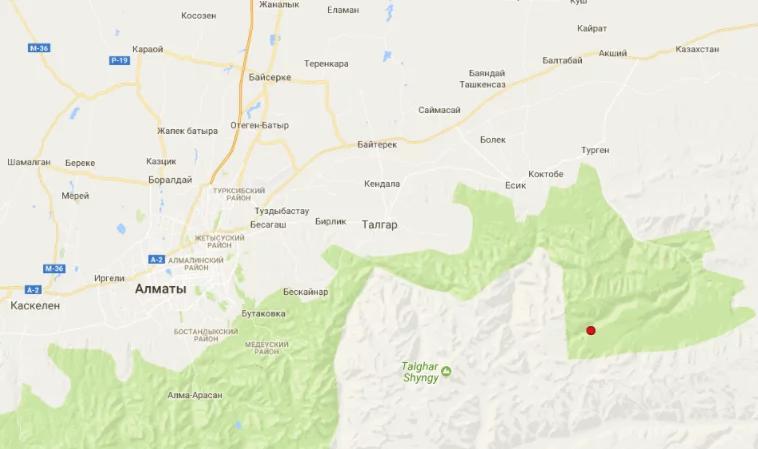 ВКазахстане случилось землетрясение магнитудой 5,1