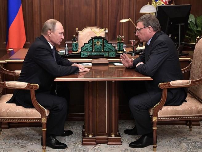 Бурков будет обговаривать сПутиным инвестиционный климат Омской области