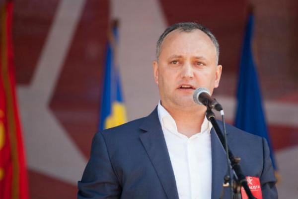 Додон высказался заширокое применение русского языка вМолдавии