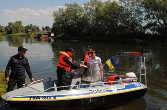 ВКиевской области запустили водную полицию