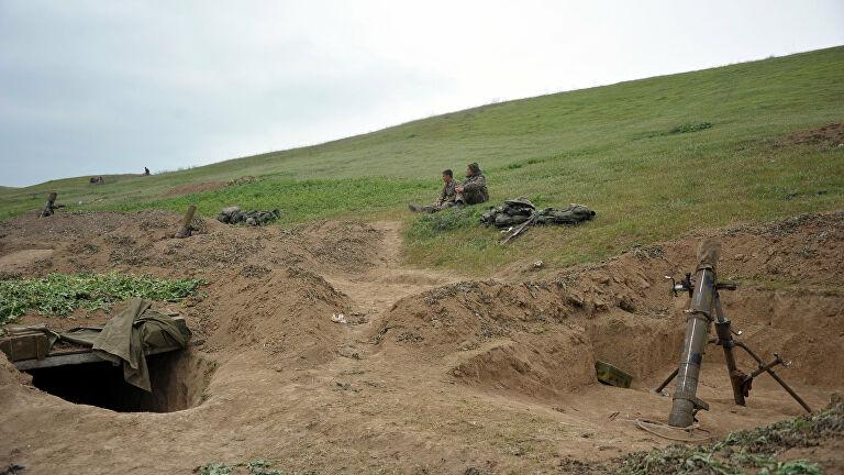 На границе Азербайджана и Армении произошло столкновение