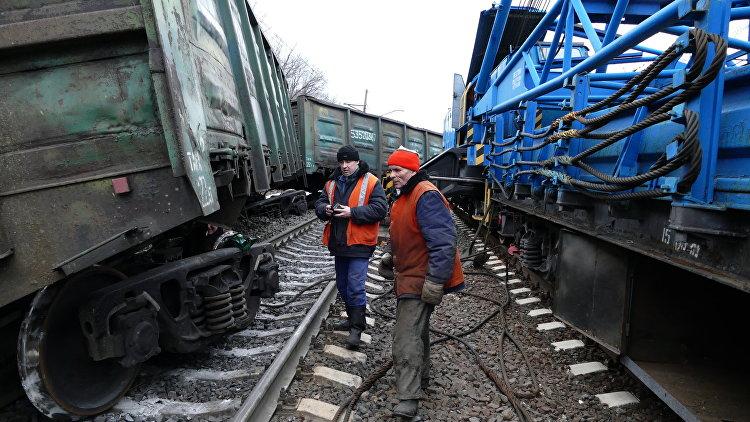 Вагон срадиоактивным топливом сошел срельсов вЧелябинской области