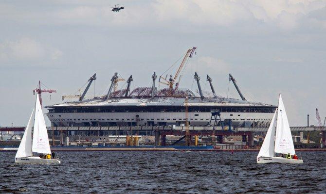 ВПетербурге создадут штаб подостройке «Зенит-Арены»