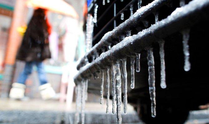 Украину ожидают 17-градусные морозы