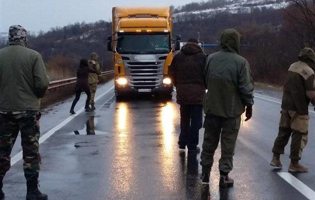 Акция протеста против русских фур вЗакарпатье проходит спокойно— милиция