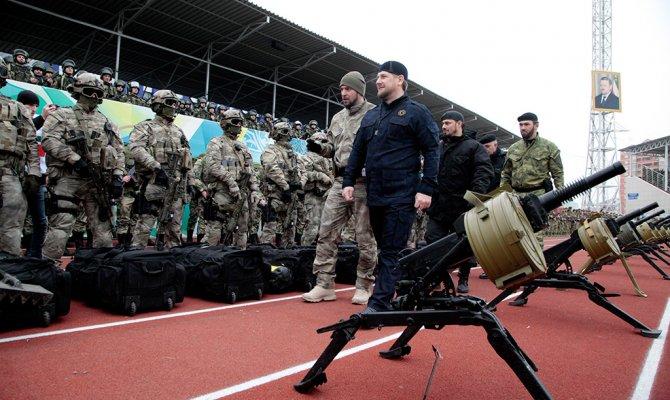 Рамзан Кадыров всоцсетях угрожает винтовкой «непонятливым»