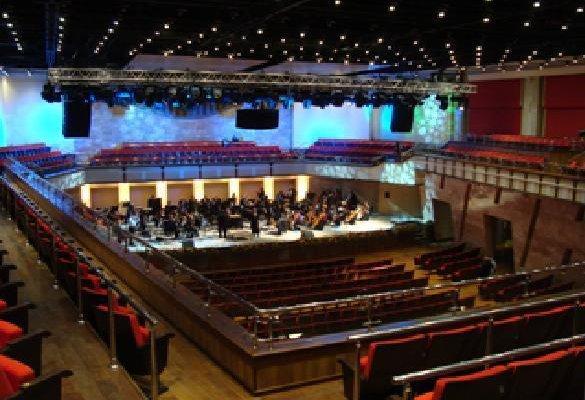 В Концертном зале филармонии