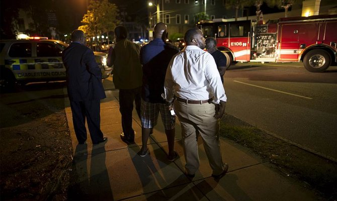 В США преступник расстрелял прихожан в методистской африканской церкви