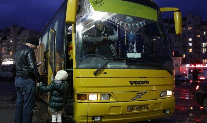 три типа автобусов — для