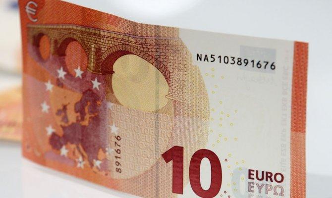 ЕЦБ запускает в обращение новые купюры достоинством в 10 евро ...