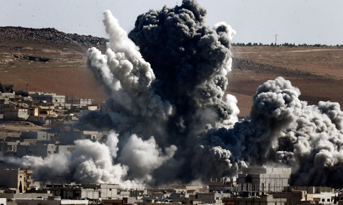 ВСирии нужна наземная операция силами всей коалиции— Турция