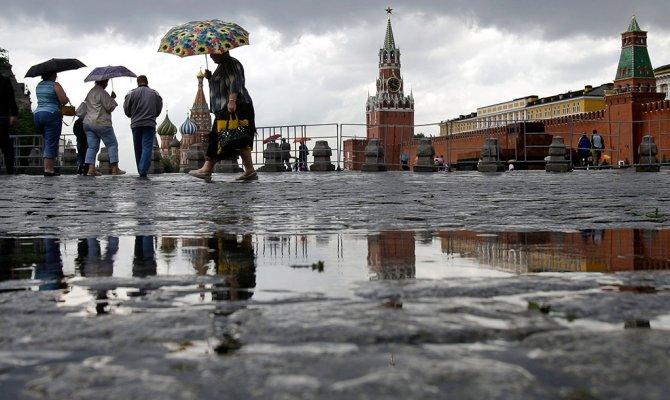 погода по москве: