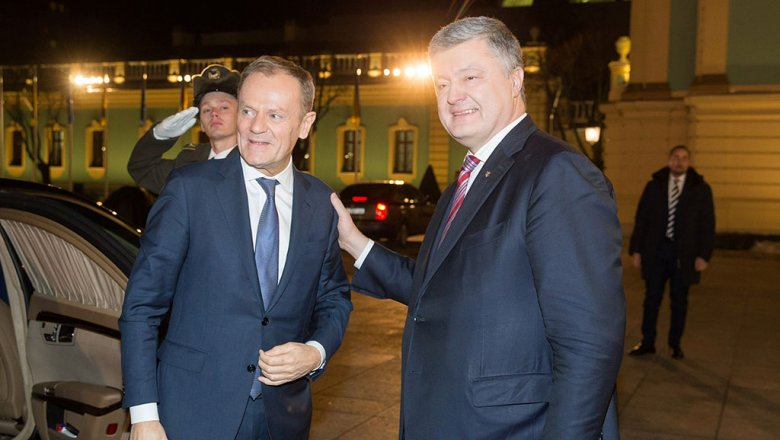 Порошенко внес вконституцию государства Украины курс вЕС иНАТО