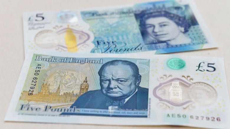 ВАнглии вводят вобращение банкноту спортретом Уинстона Черчилля