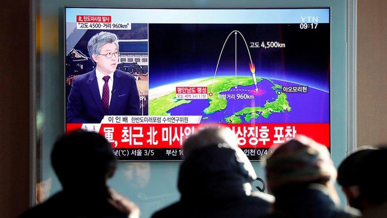 Минобороны Южной Кореи: запущенная КНДР ракета может преодолевать более 13 тыс. км