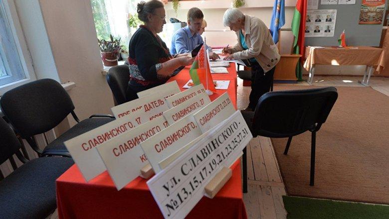 Стартует заблаговременное голосование навыборах впарламент Белоруссии