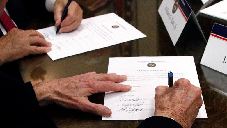 В США началось голосование коллегии выборщиков