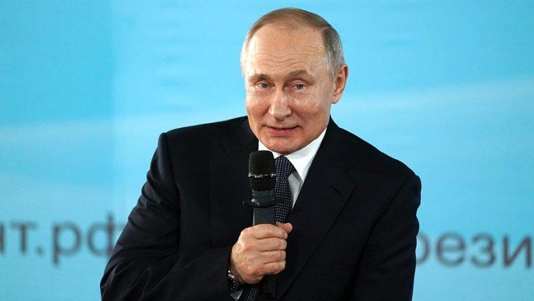 Путин ответил на шутку Галкина в свой адрес - Новости Mail.ru
