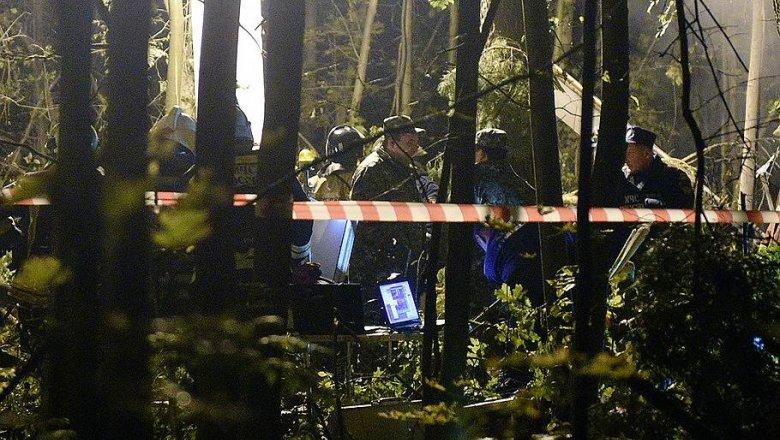 ВПодмосковье разбился вертолет Ми-8 МЧС, погибли три члена экипажа
