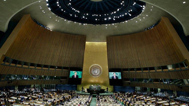 Запад выступил в Генассамблее ООН против предложения России отказаться от санкций