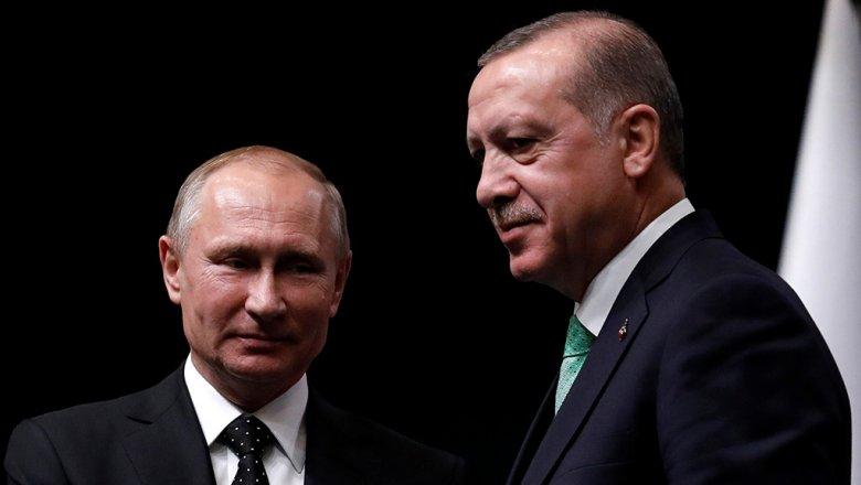 СМИ: Эрдоган предложил Путину создать рабочую группу по Карабаху