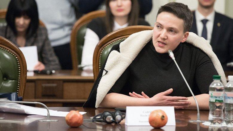 Савченко останется вгосударстве Украина ибудет писать свои законы— Красная кнопка
