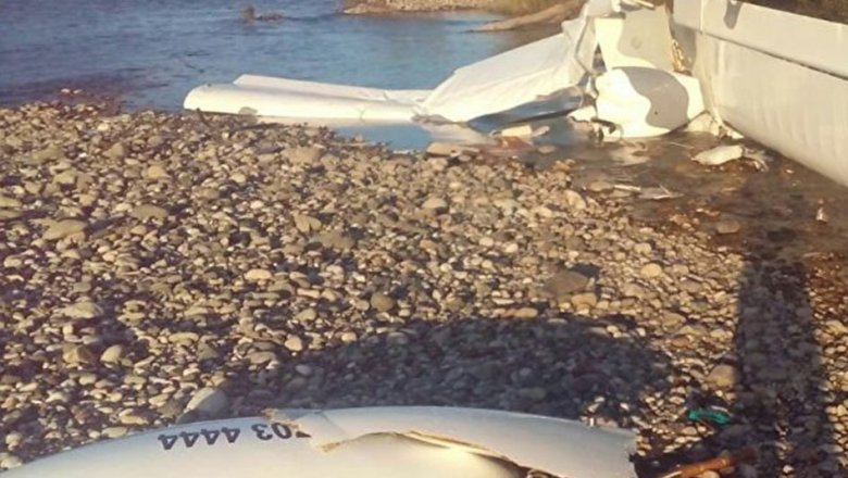 ВАдыгее рухнул дельтаплан, два человека погибли