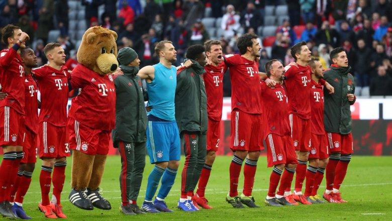 Бавария футбольный матчи