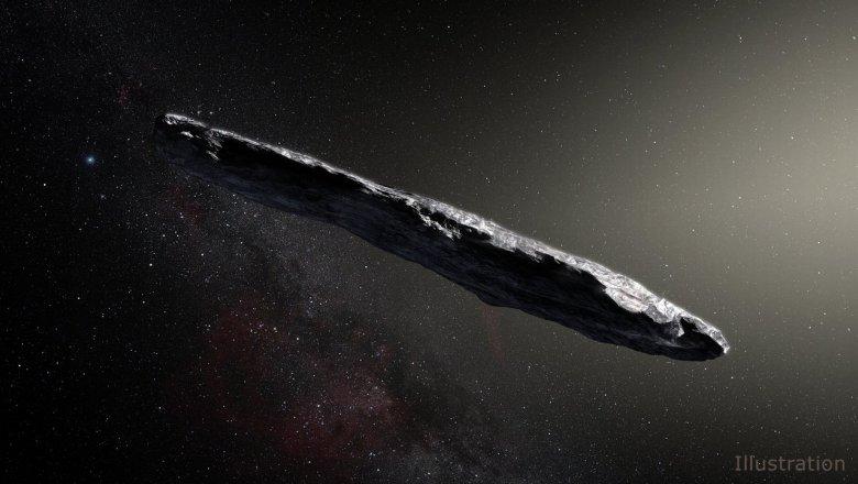 Английские  астрономы поведали  отрудной истории астероида Оумуамуа