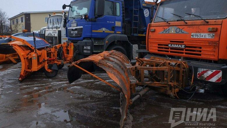 ВНижнем Новгороде науборку снега готовы выйти 58 комбинированных машин