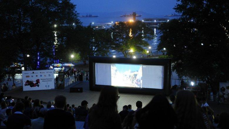 Приморцы смогут посмотреть фильмы местных режиссеров на открытой площадке