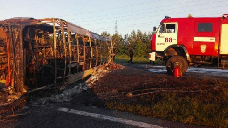 При столкновении автобуса ибензовоза вТатарстане погибли два ребенка