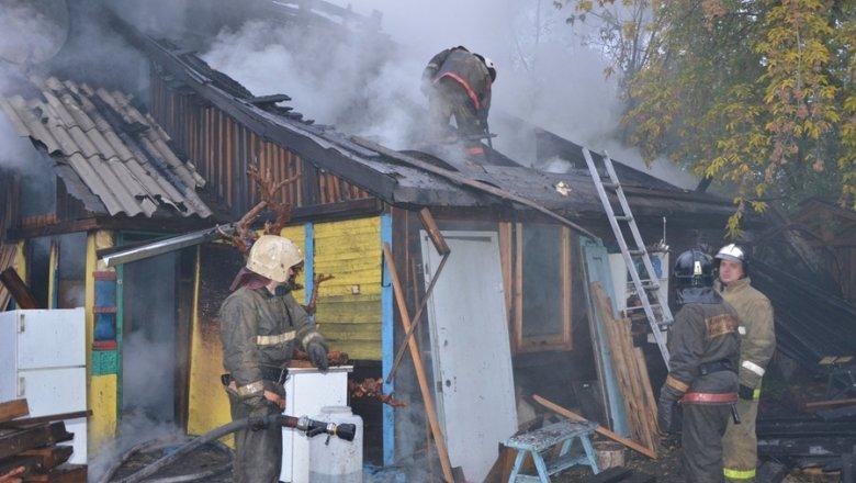 в николаевке сгорел дом красноярск