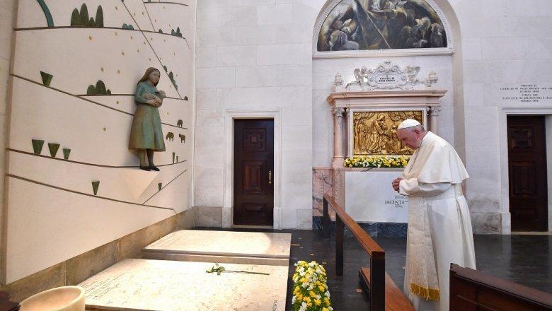 Папа Римский официально провозгласил 2-х португальских детей святыми