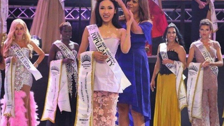 «Мисс Вселенная-2017»: украинку наградили титулом самой красивой женщины