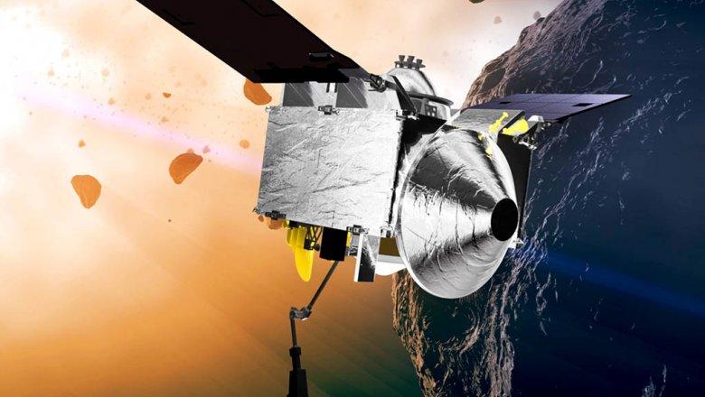 OSIRIS-REx впервый раз заснял астероид Бенну